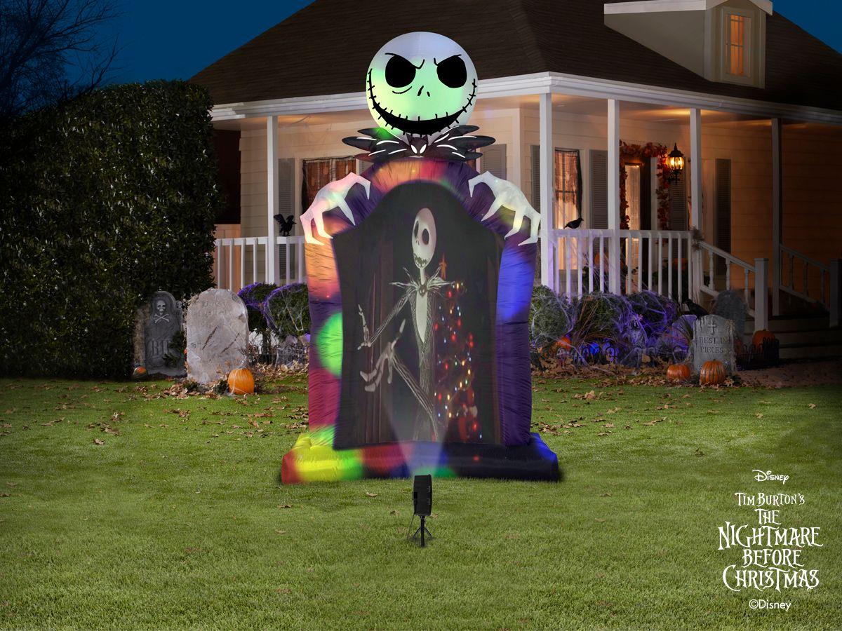 The Nightmare Before Christmas 9 5 Ft X Jack Skellington Halloween Inflatable