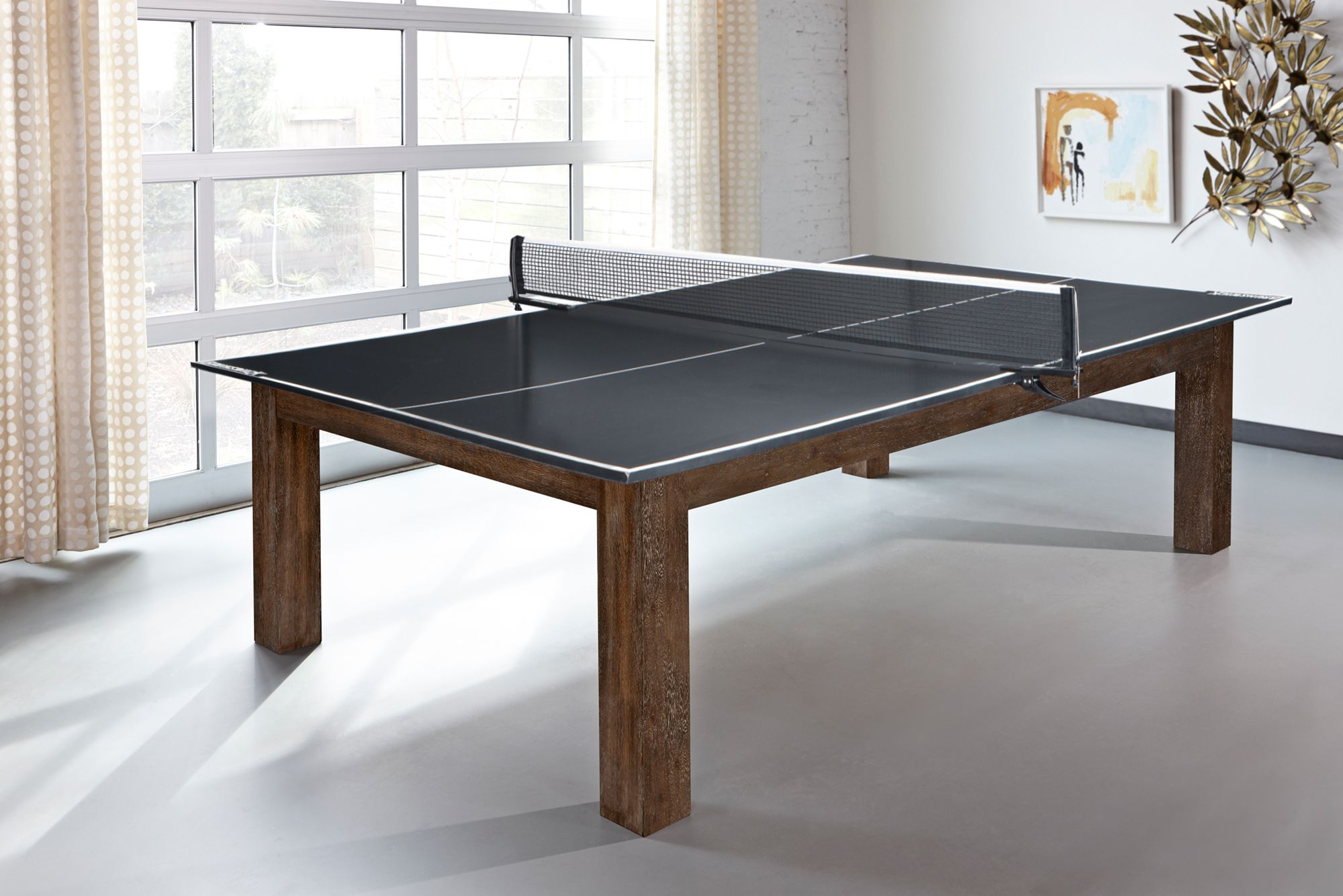 Brunswick Table Tennis Conversion Top Features