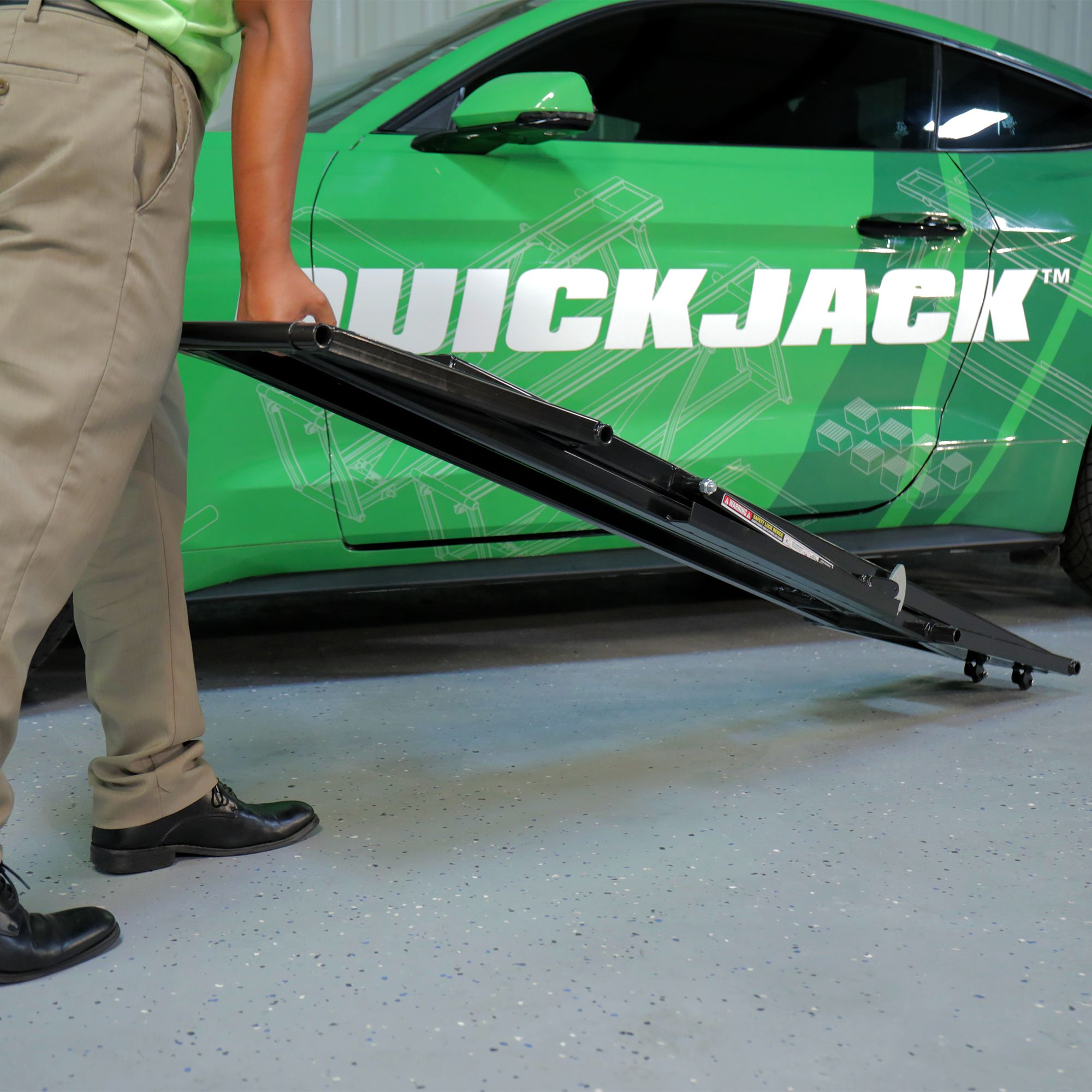 QuickJack 5,000-LB Capacity Portable Car Lift