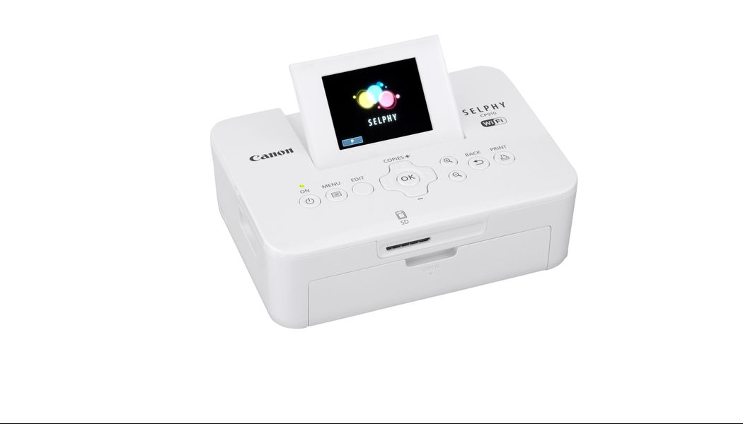 Canon Selphy Cp910 Wireless Compact Photo Printer White Staples