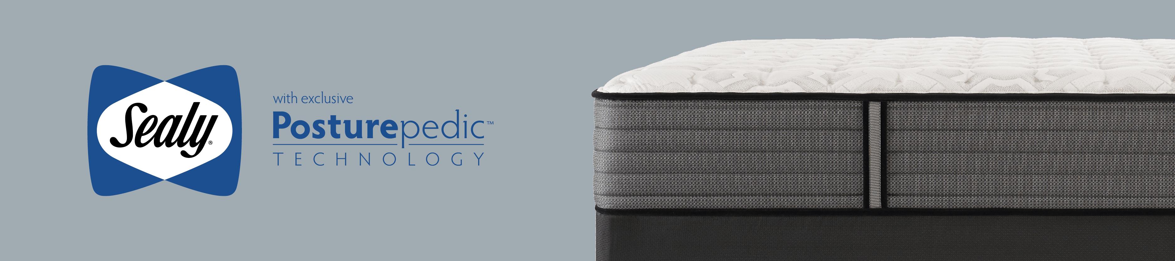 Sealy Posturepedic Response Premium West Salem Cushion Firm Cal King Mattress And Foundation