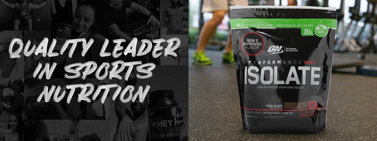 Quality Leader In Sports Nutrition