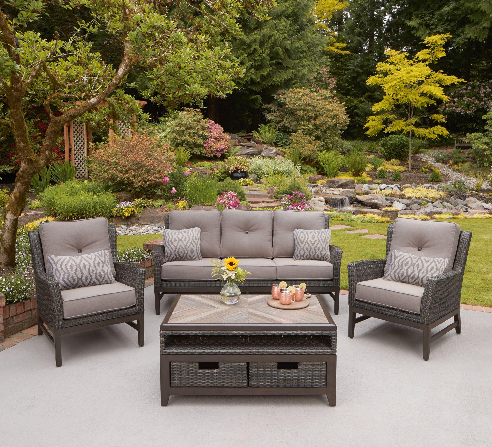 st louis 4 piece deep seating set rh costco com forshaw patio furniture st louis outdoor patio furniture st louis