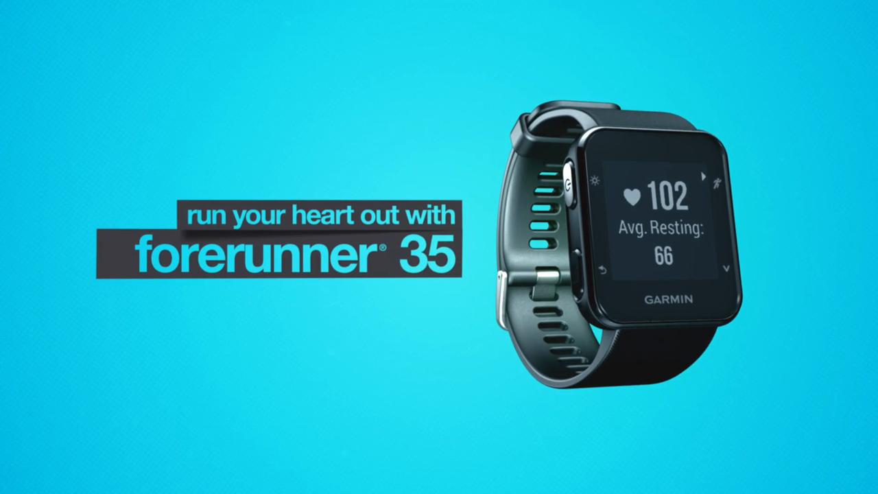 fa86a5e56decf4 Garmin Forerunner 35 GPS Running Watch - Walmart.com
