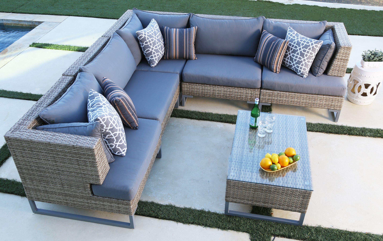 coronado 6 piece modular seating set rh costco com