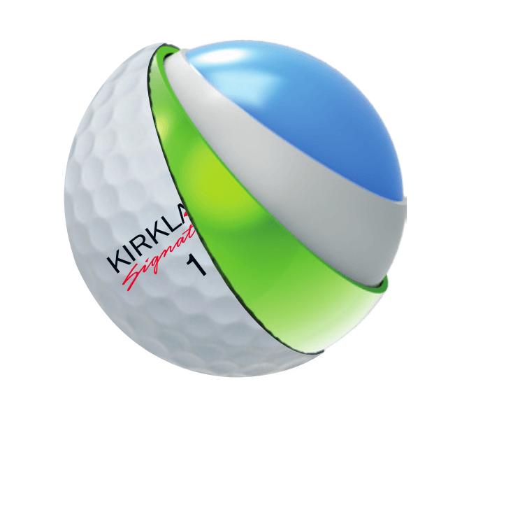 Kirkland Signature Urethane Cover Golf Balls - One dozen ...