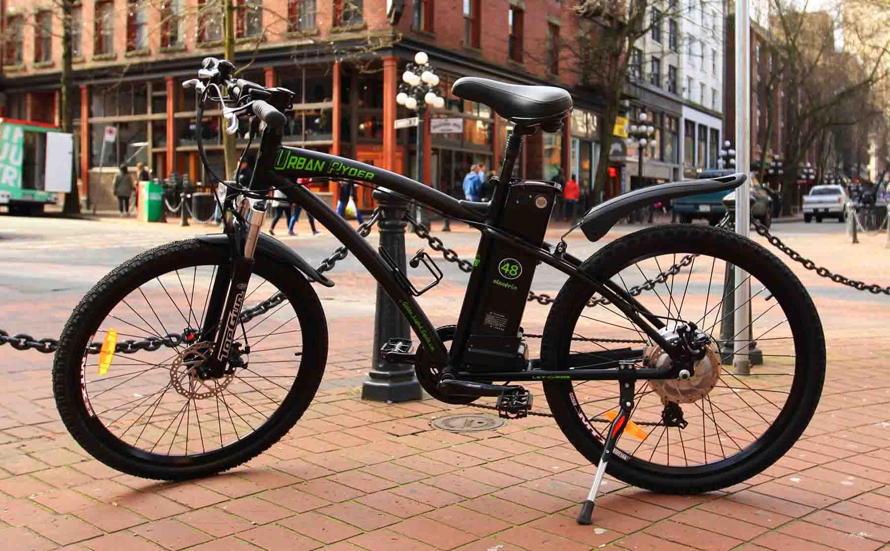 c5fd189d410 Urban Ryder Men s 7-speed Electric Bicycle