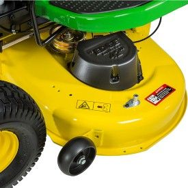 John Deere E100 17 5-HP Automatic 42-in Riding Lawn Mower