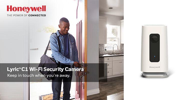 Honeywell C1 Digital Wireless Indoor Security Camera with