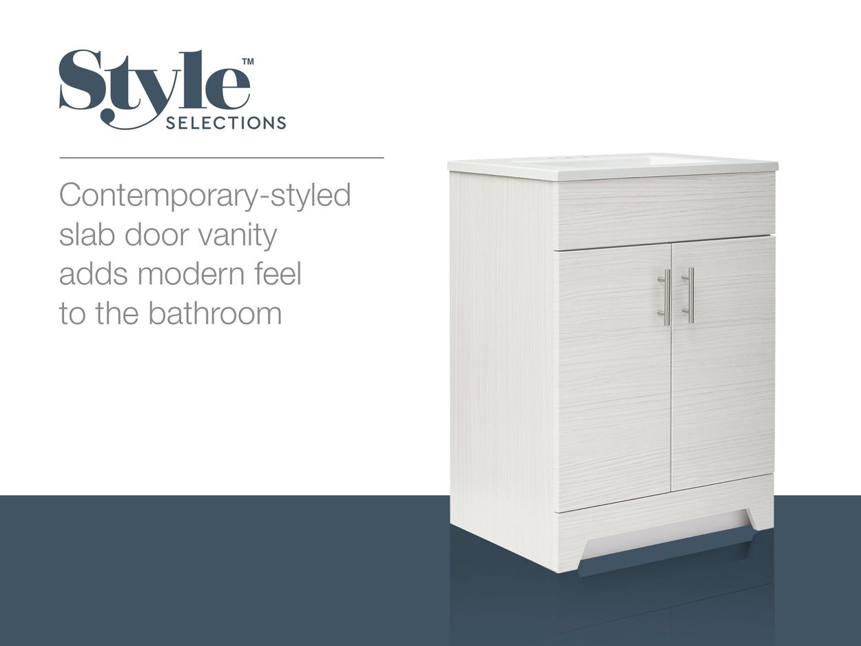 lowes style selections vanity