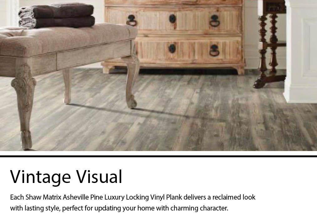 Shaw Asheville Pine Vinyl Plank Sample