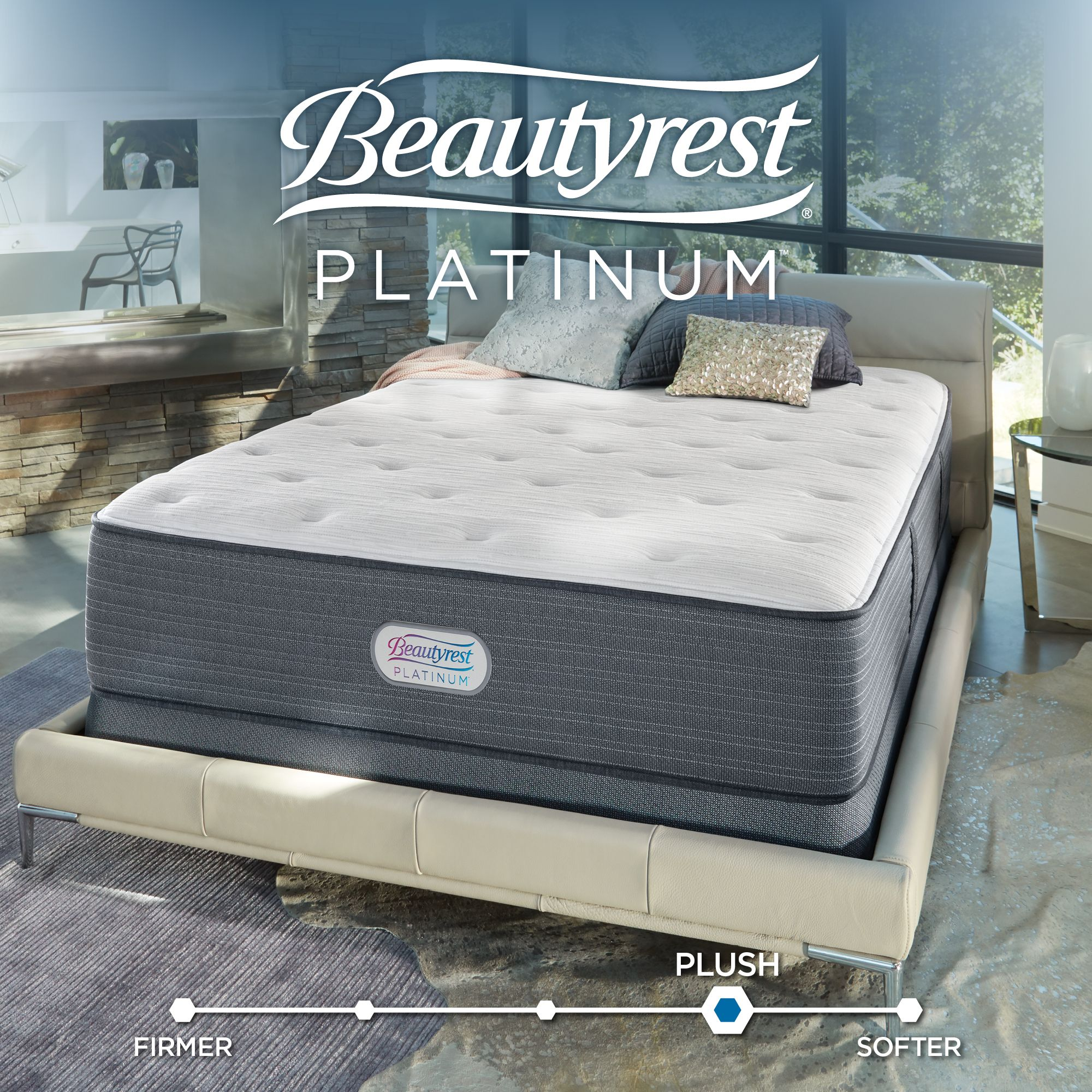 09965008afd MAKE YOUR BED A SMART BED – After you receive delivery of your Beautyrest  Platinum mattress