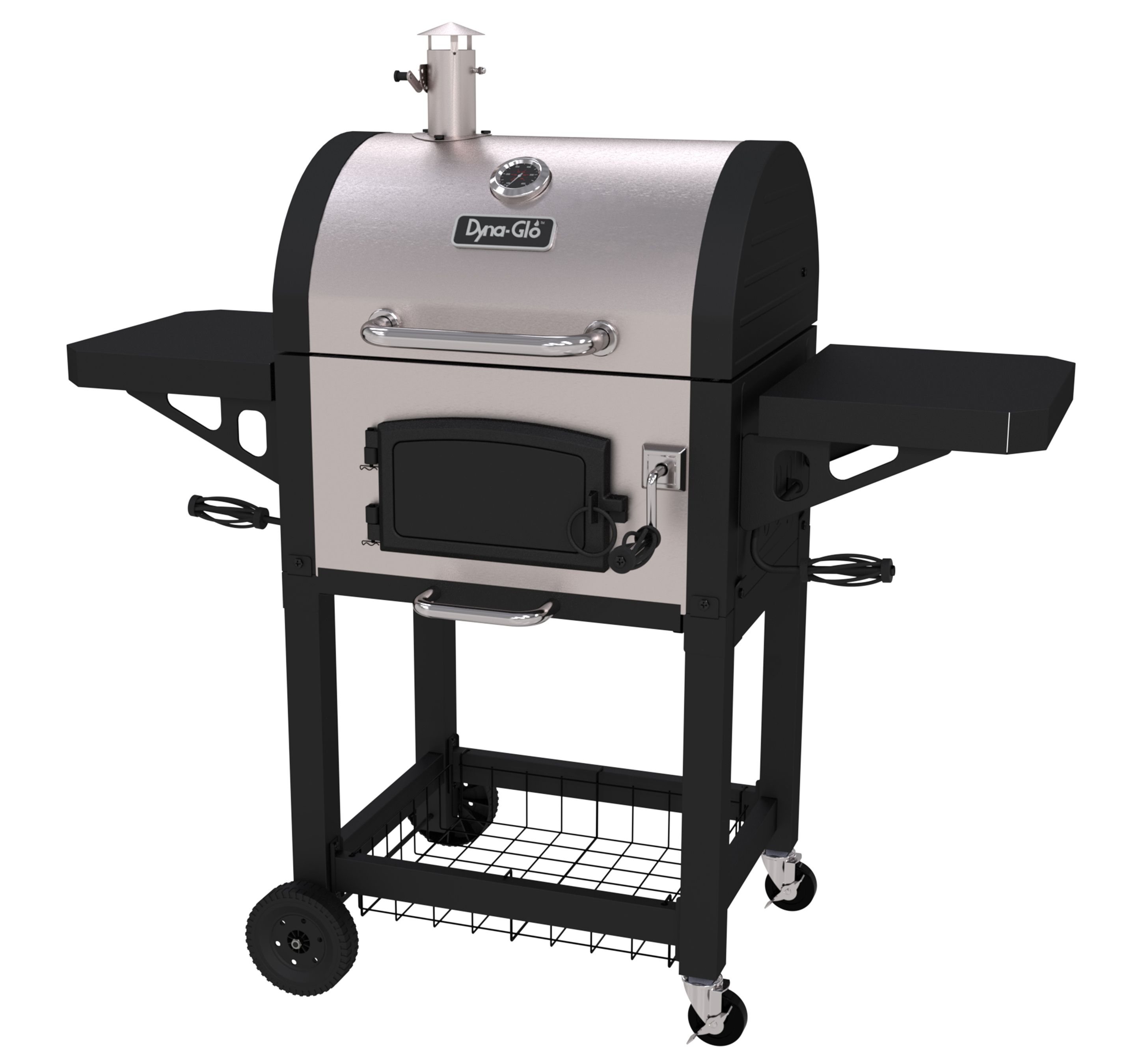 Dyna Glo Dgn405snc D Stainless Steel Heavy Duty Compact Charcoal Grill