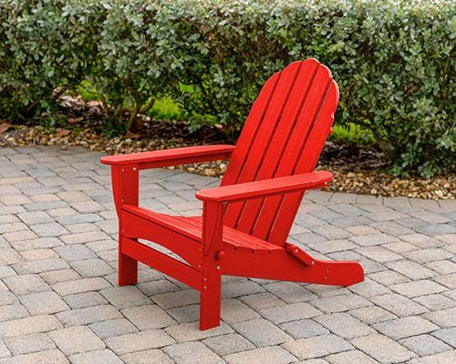 Sensational Details About Long Beach Folding Adirondack Chair By Polywood Red Squirreltailoven Fun Painted Chair Ideas Images Squirreltailovenorg