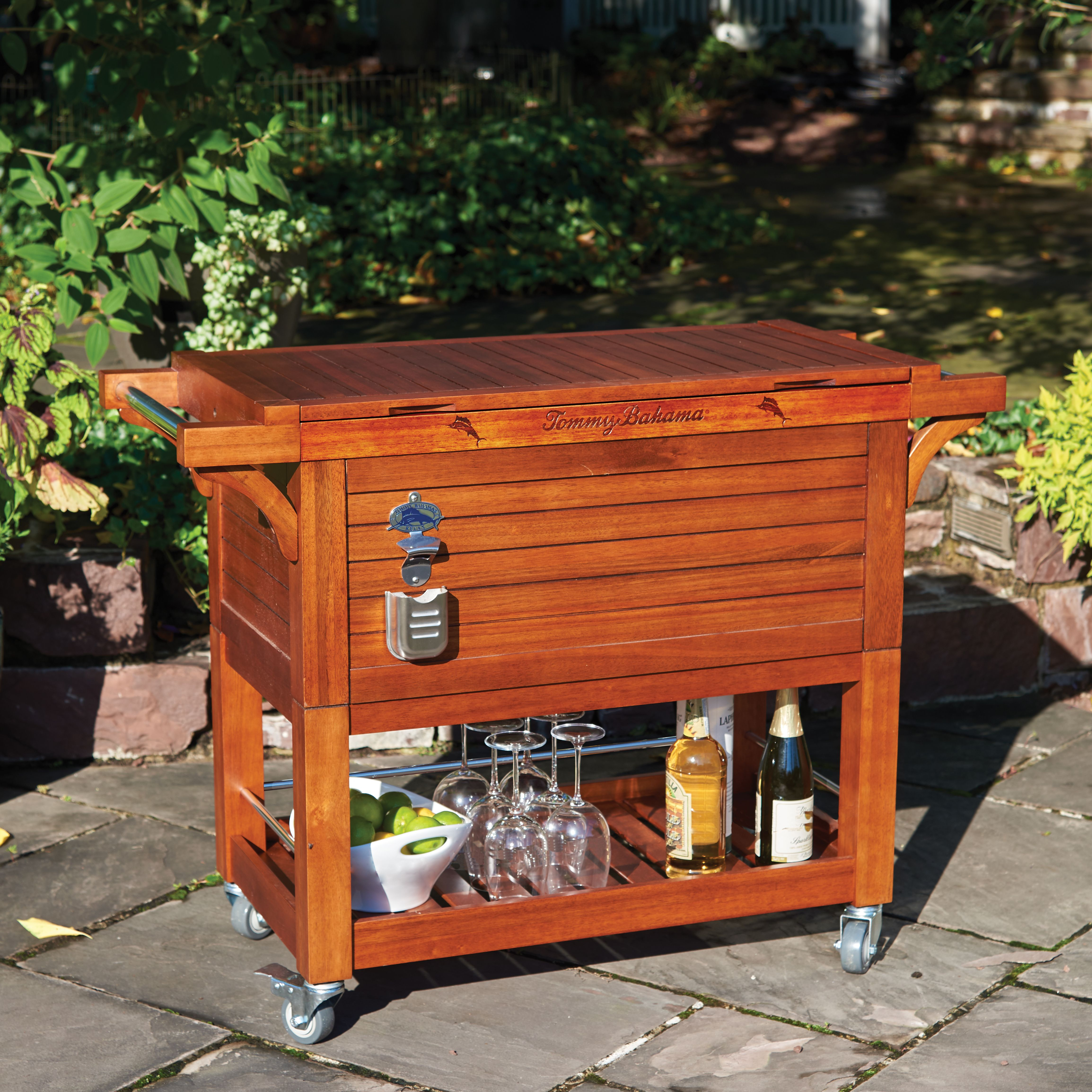 Tommy Bahama 100 Qt Rolling Party Chest