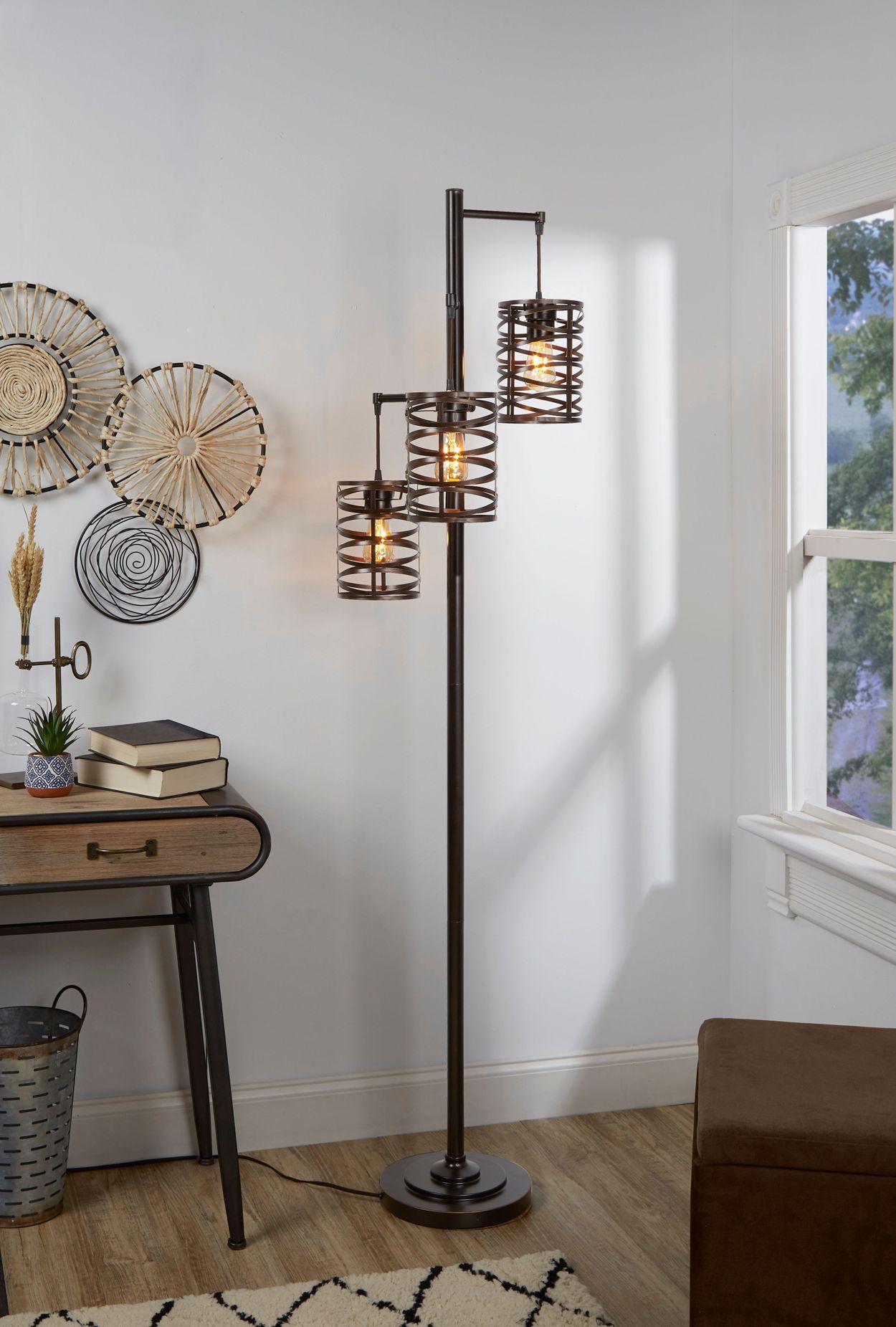 Brady 3 Arm Floor Lamp