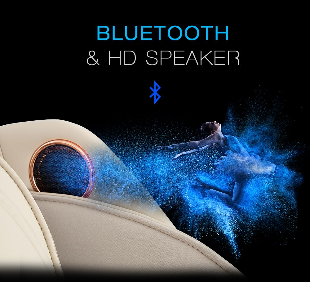 Bluetooth and HD speaker