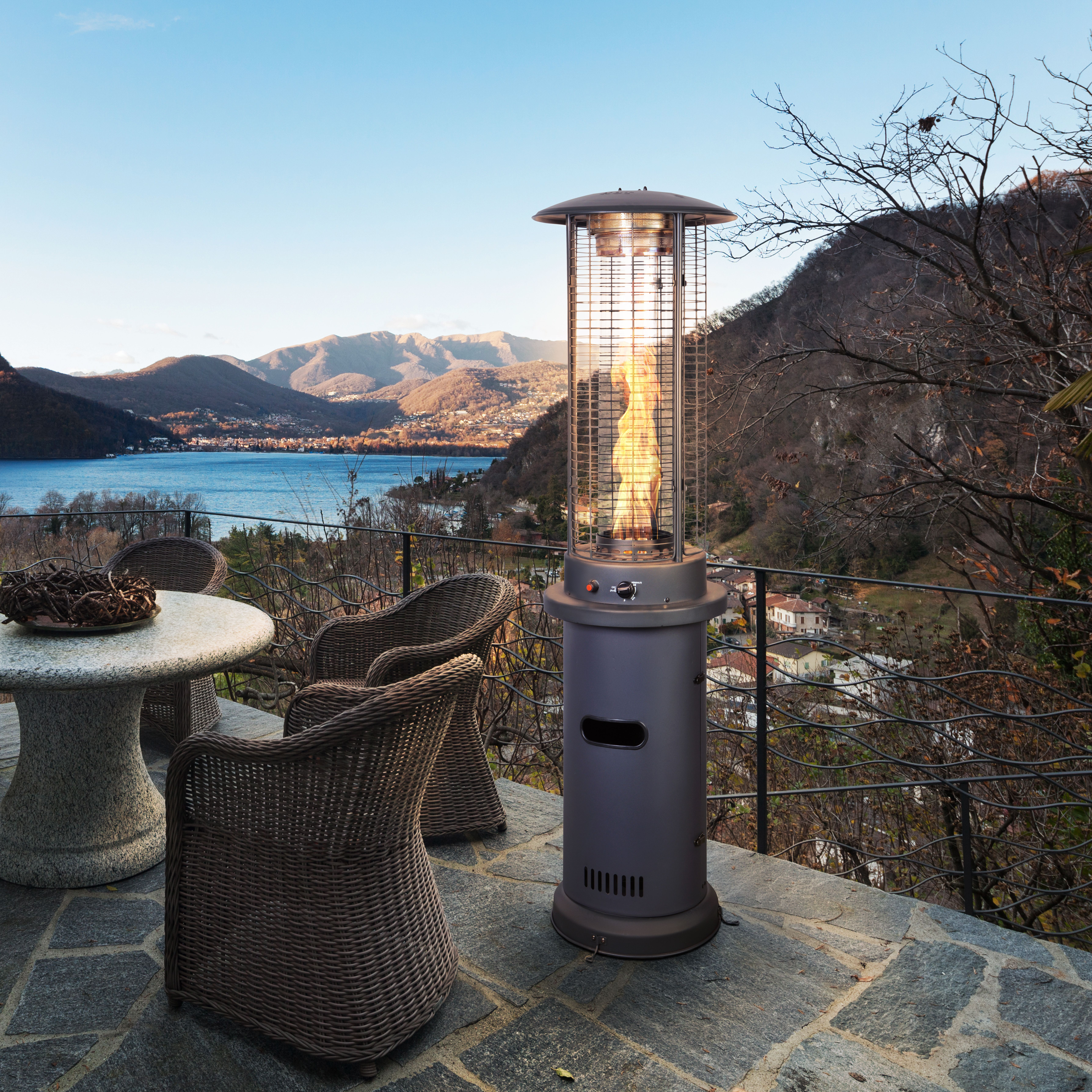 Bon Cool Evenings Are No Threat To Your Outdoor Fun, Since The Patented Design  Emits Fifty Percent More Heat With Less Propane! The Best Part Is, The  Charcoal ...