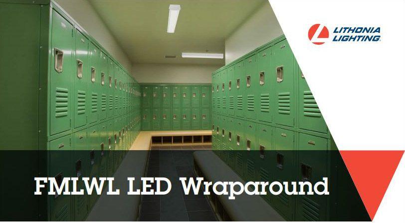 lithonia lighting  fmlwl led wraparound