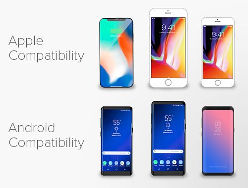 Apple Compatibility Android Compatibility