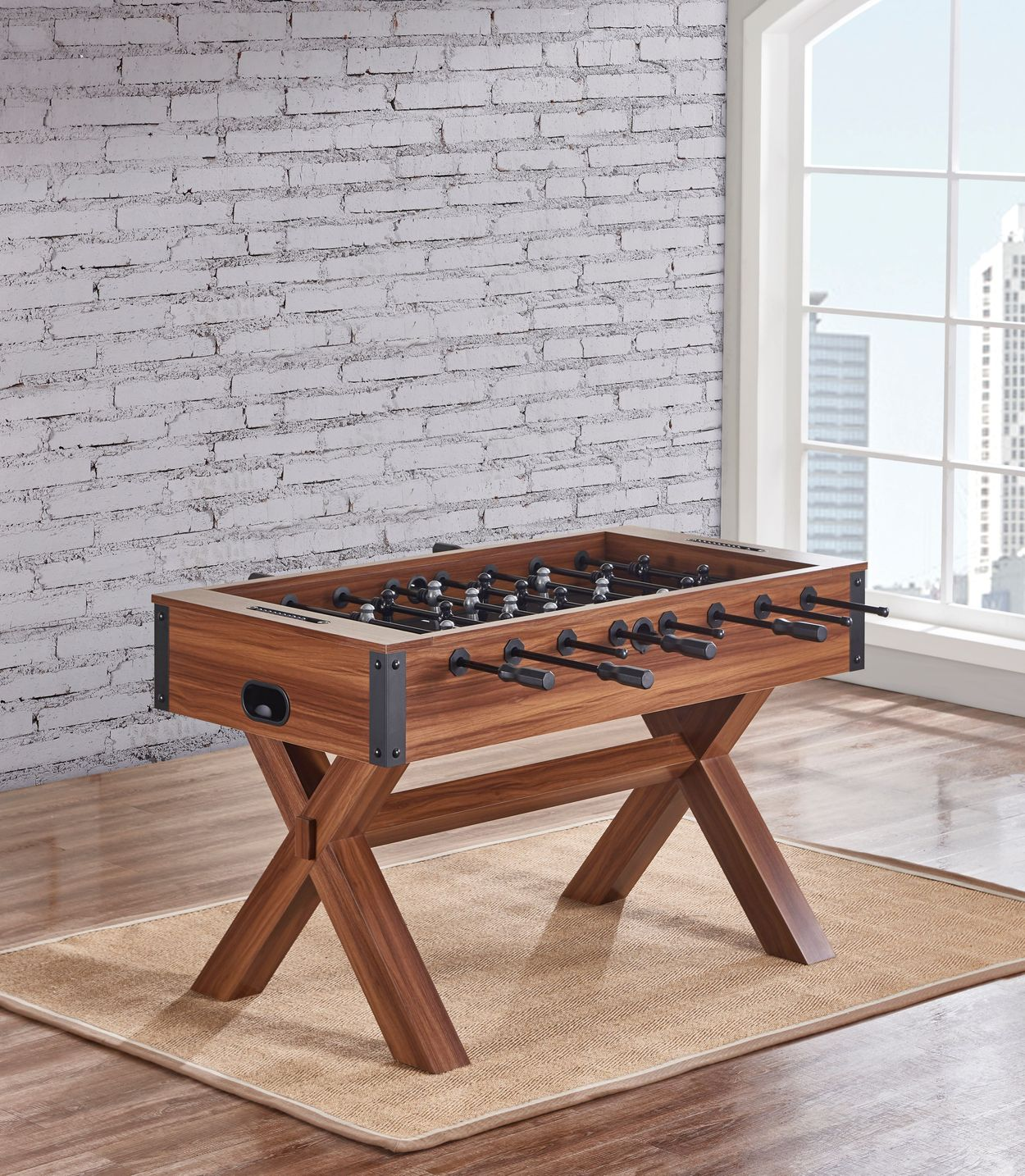Angeled view of Soccer Style Playfield