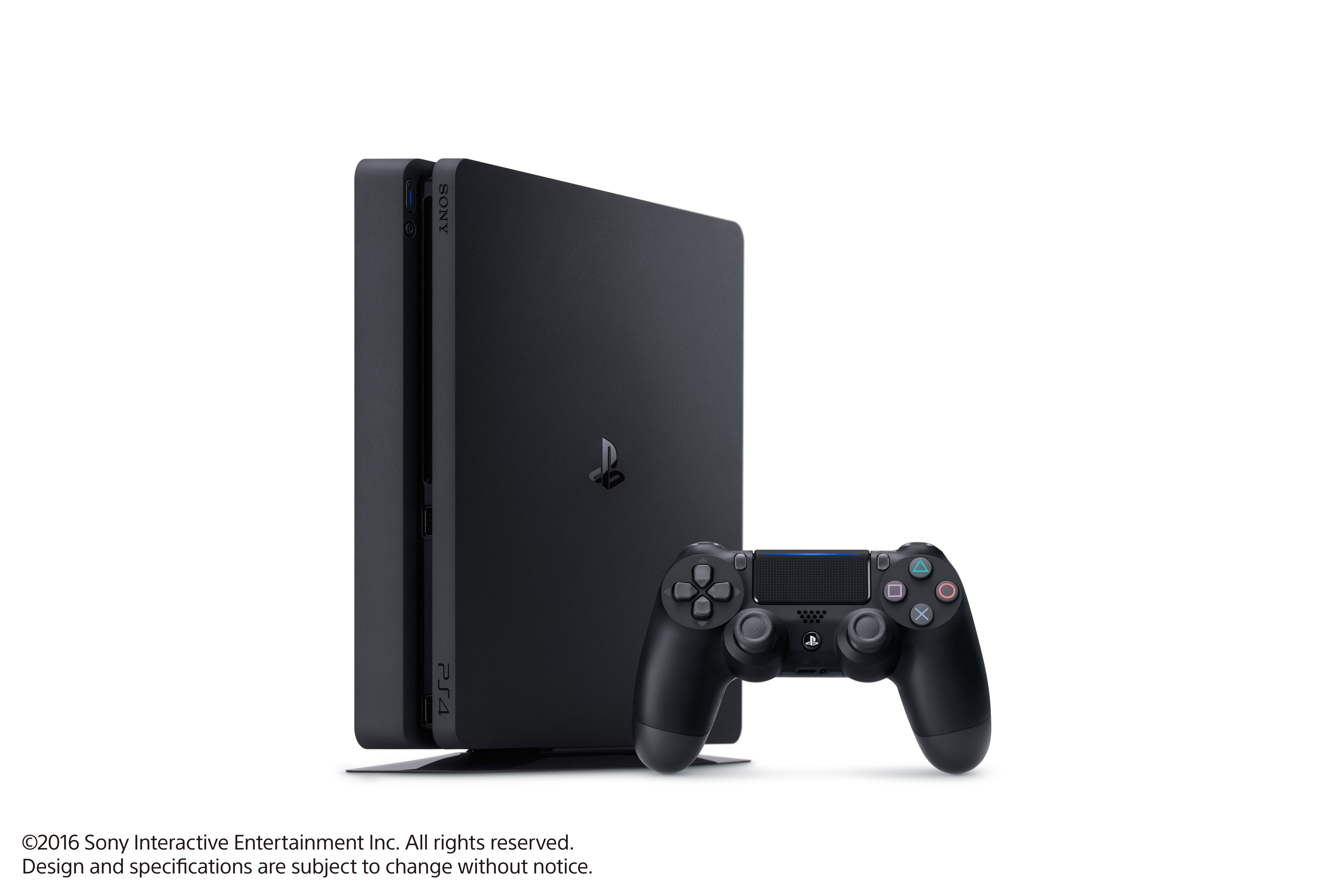 f6bd34804 The all new lighter and slimmer PlayStation®4 system has a 1TB hard drive  for all of the greatest games