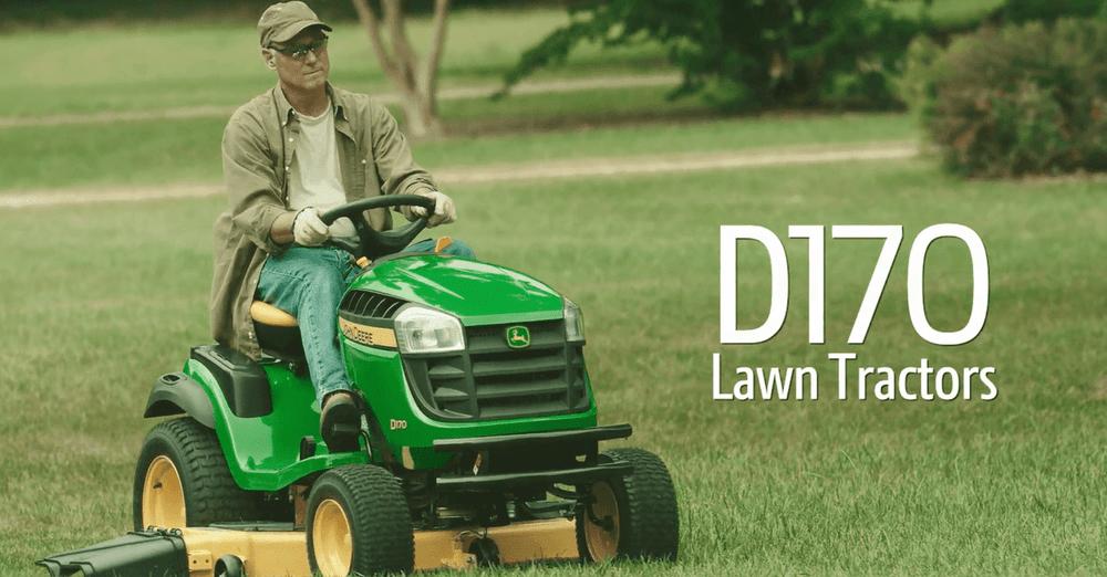 John Deere D170 25-HP V-twin Hydrostatic 54-in Riding Lawn