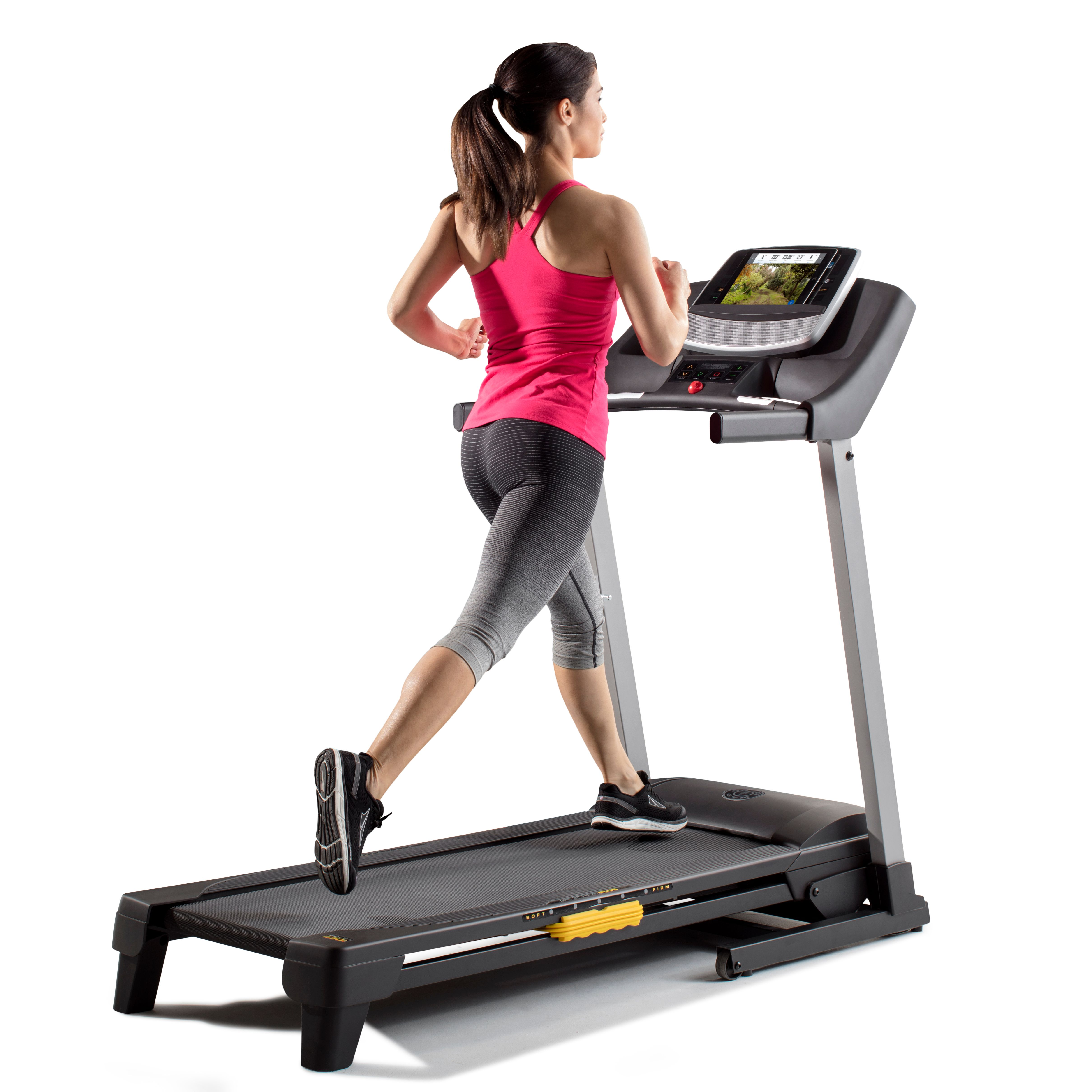 Golds gym trainer 430i treadmill compatible with ifit coach