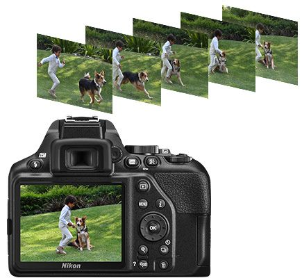 Nikon D3500 DSLR Camera 2 Lens Bundle