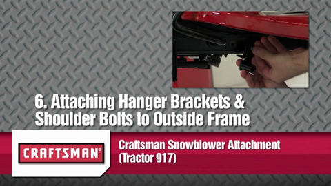 Craftsman® Snowblower Attachment (Tractor 917) (71-24837