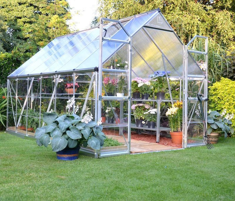 Palram Build & Grow 8 ft  x 12 ft  Hybrid Greenhouse