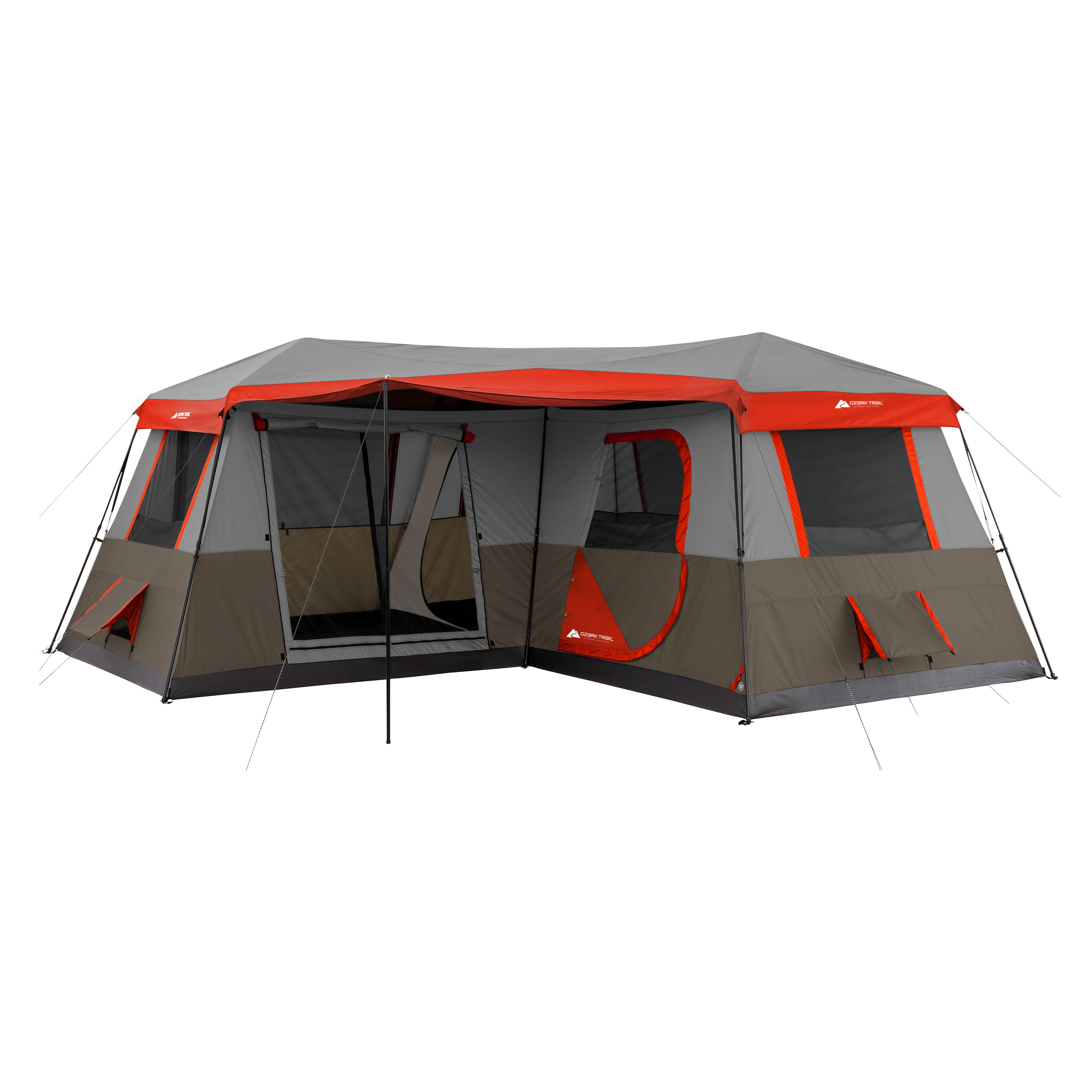 Ozark Trail 16x16 Instant Cabin Tent Sleeps 12 - Walmart com