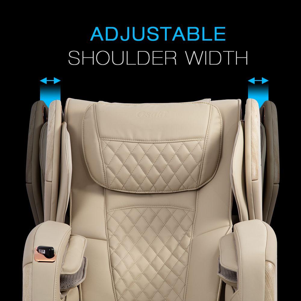 Adjustable shoulder width