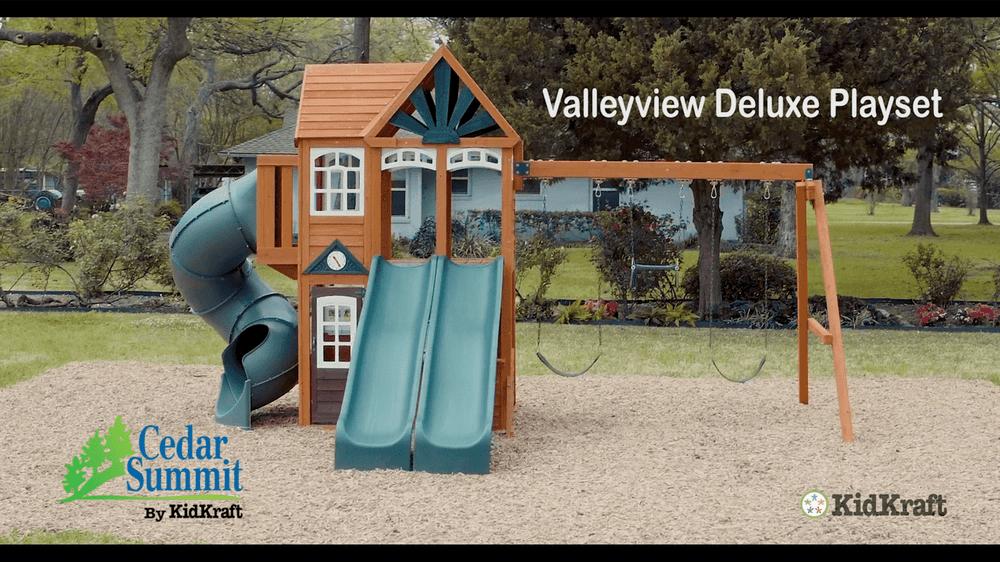 Cedar Summit By Kidkraft Valleyview Deluxe Playset Do It Yourself