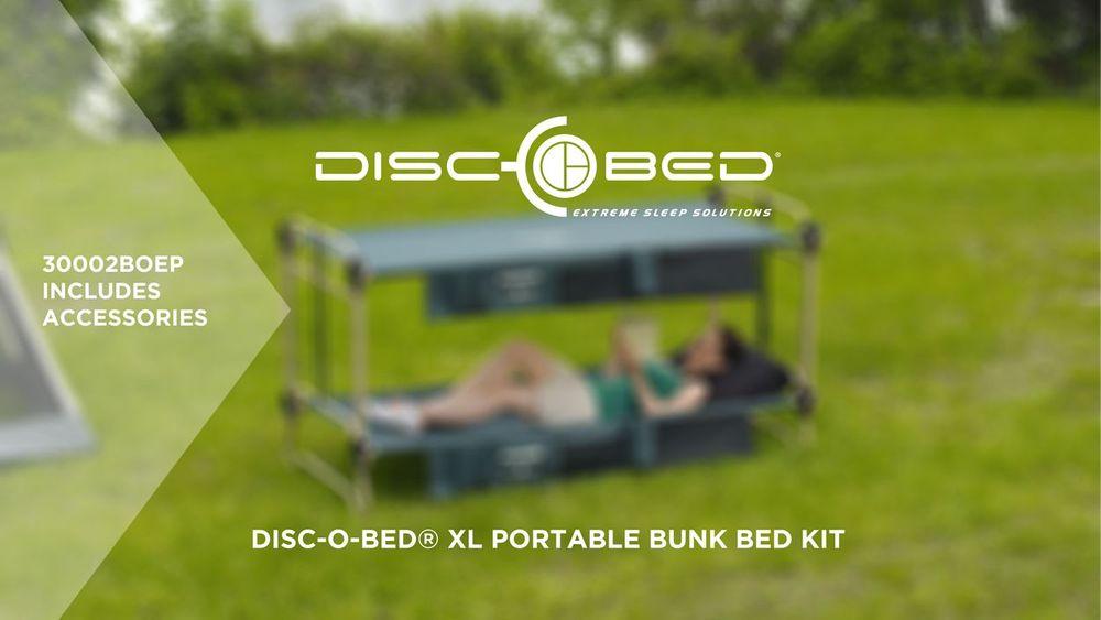 Disc O Bed Xl Portable Cot Bundle