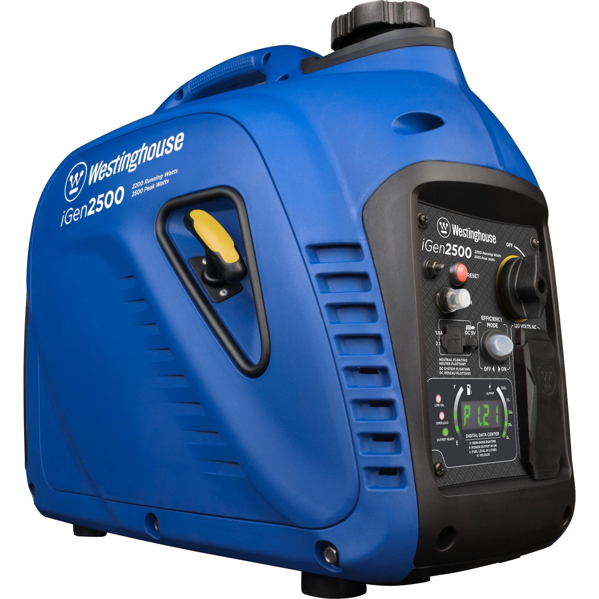 westinghouse igen2500 gas powered portable inverter generator rh walmart com