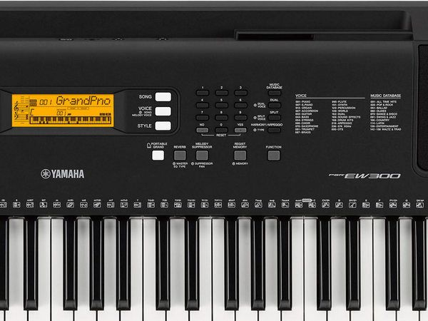 Yamaha PSREW300 Keyboard