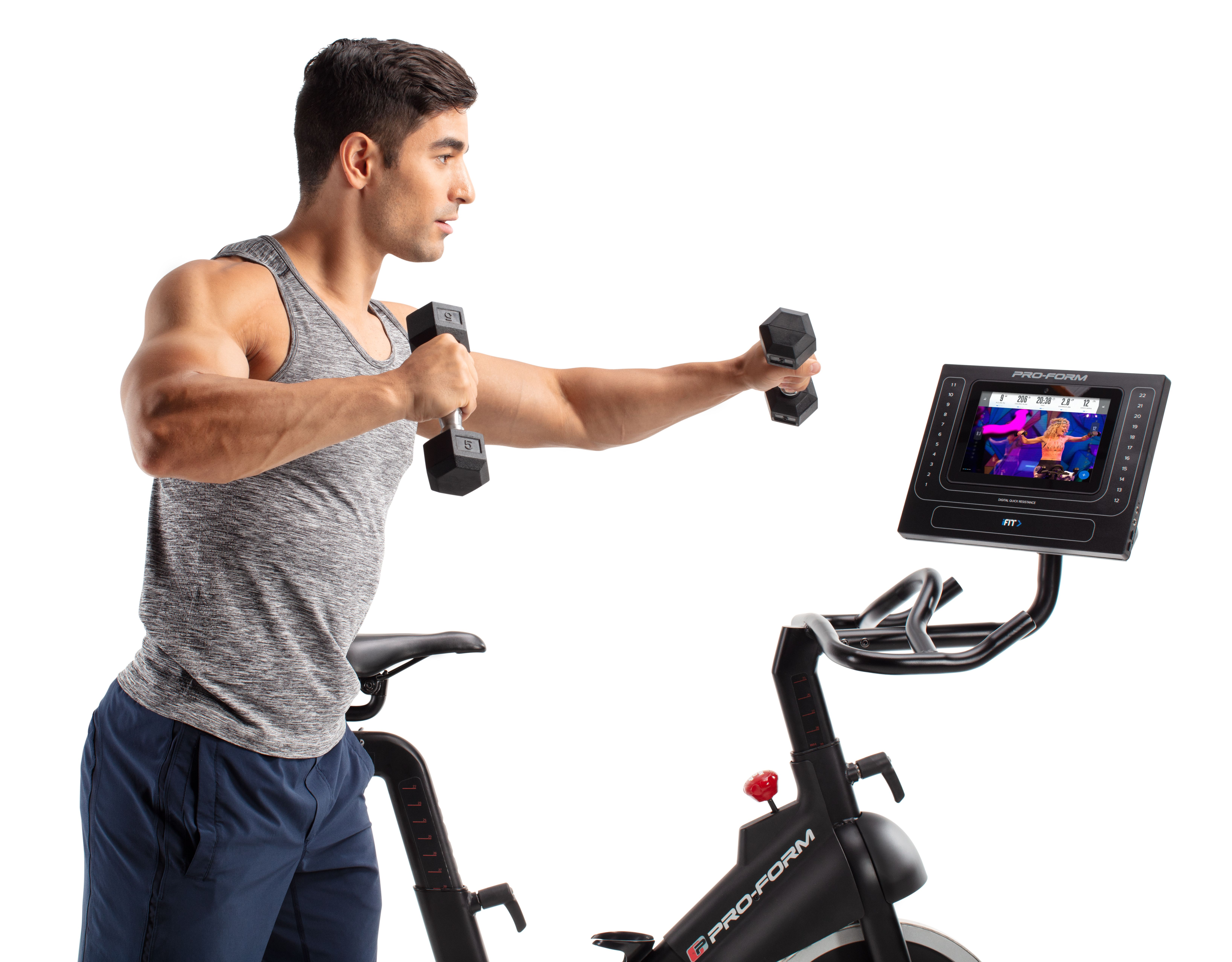 ProForm Smart Power 10 0 Studio Cycle with 1-Year iFit Coach Included,  Assembly Required