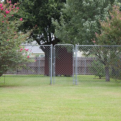 Actual: 50-ft x 6-ft) Galvanized Galvanized Steel Chain-link Fence