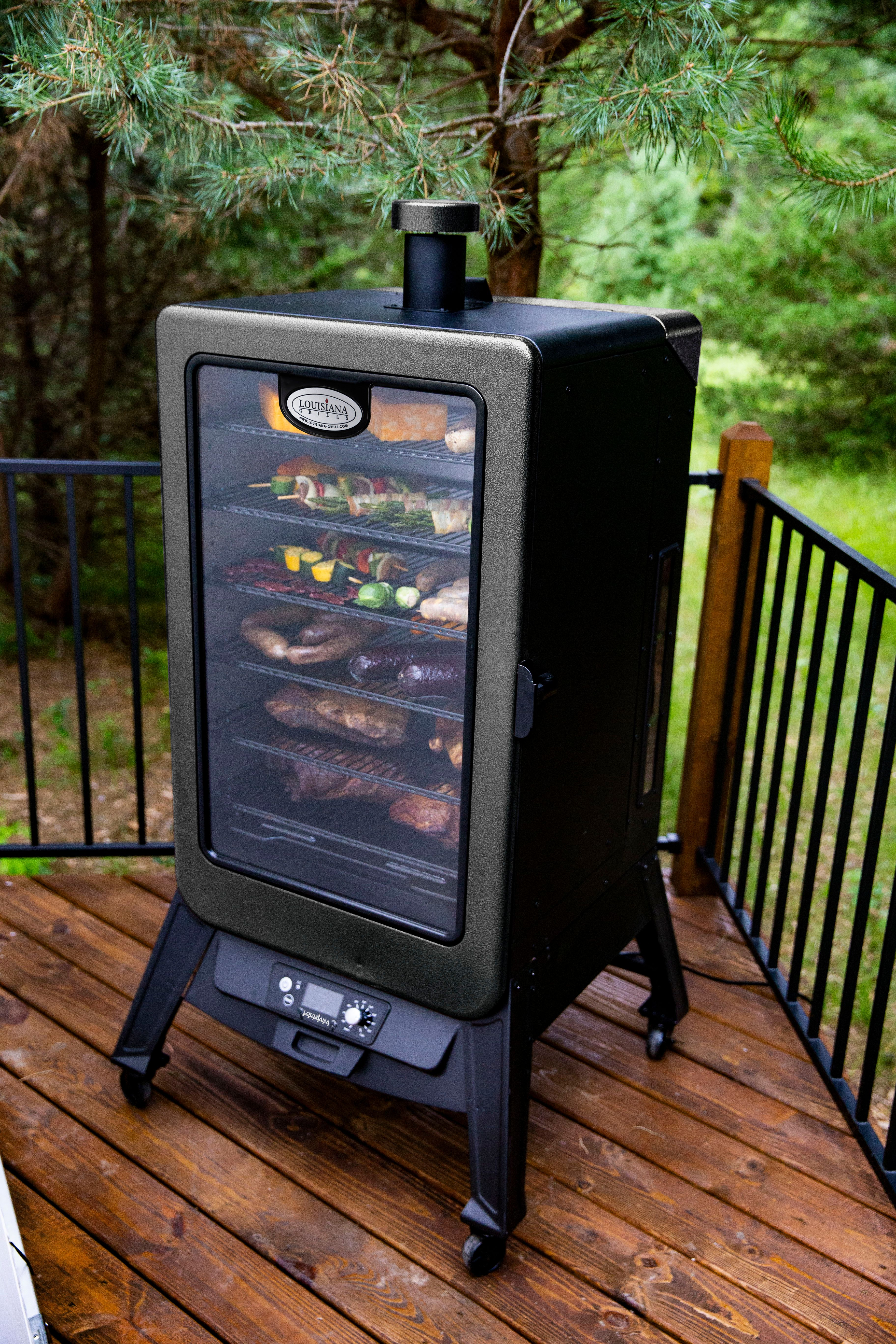 Insulated Cabinet Pellet Smoker | Mail Cabinet