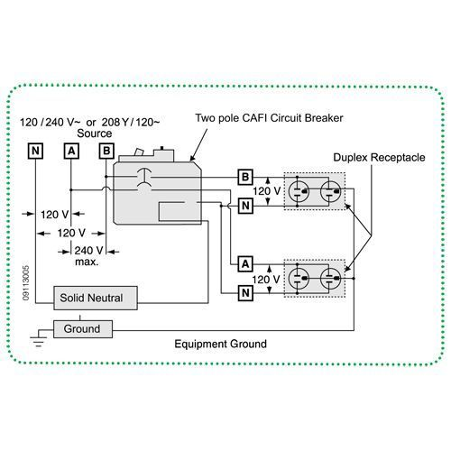 siemens breaker wiring diagram square d qo 20 amp 2 pole combination arc fault circuit breaker in siemens air circuit breaker wiring diagram combination arc fault circuit breaker