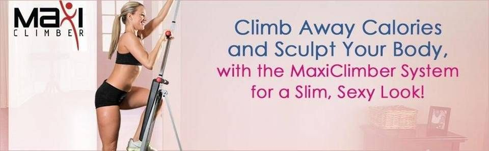 MaxiClimber Total Body Workout - Home Gym Exercise Equipment