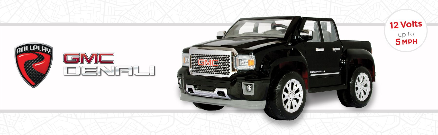 e185acbeb Rollplay GMC Sierra Denali 12 Volt Battery Ride-On Vehicle, Black ...