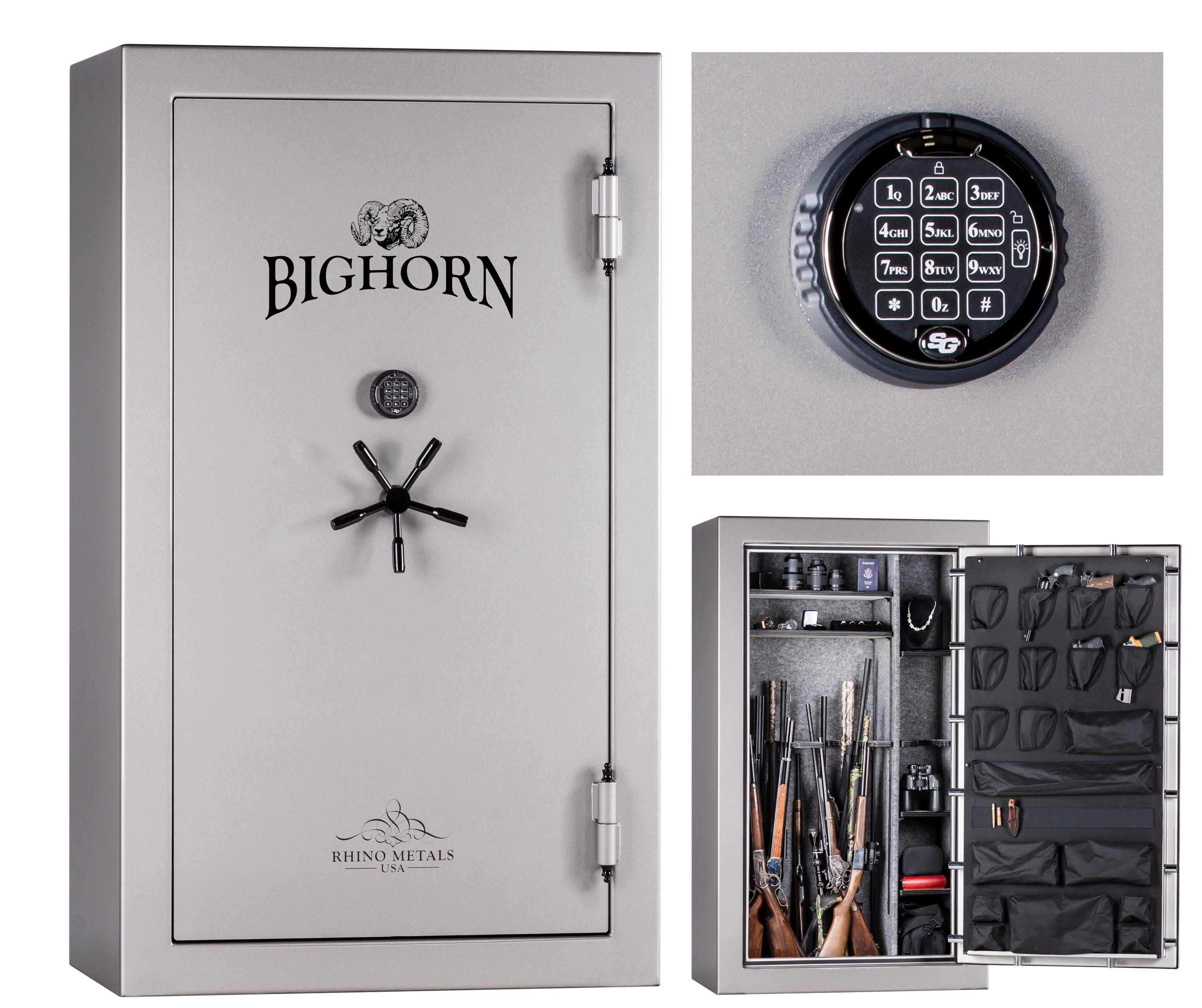 Bighorn High Gloss 47 3 CuFt Gun Safe, 120 minute Fire Rating