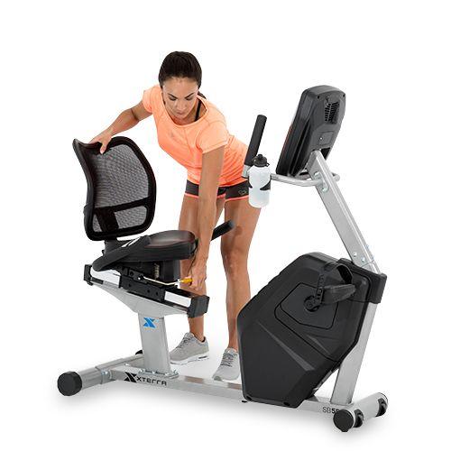 xterra recumbent exercise bike