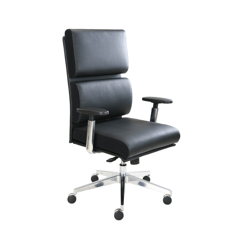 Magnificent Tempur Pedic Leather Executive Chair Black Tp1000 Black Ocoug Best Dining Table And Chair Ideas Images Ocougorg