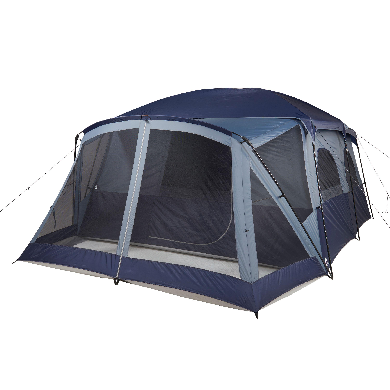 Ozark Trail 12-Person Cabin Tent With Screen Porch and 2 Entrances  sc 1 st  Walmart & Ozark Trail 12-Person Cabin Tent With Screen Porch and 2 Entrances ...