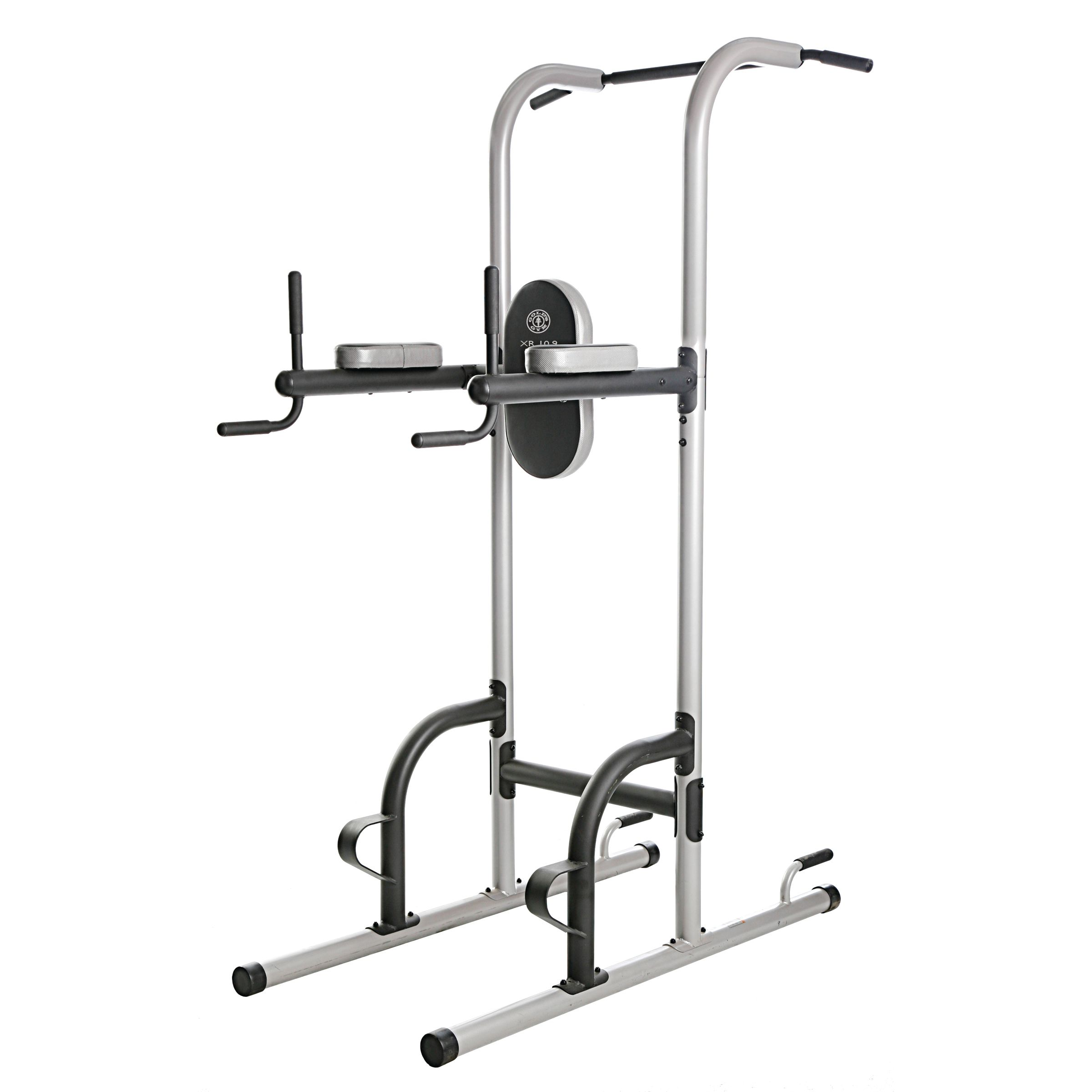 Gold s gym xr power tower with push up pull up and dip