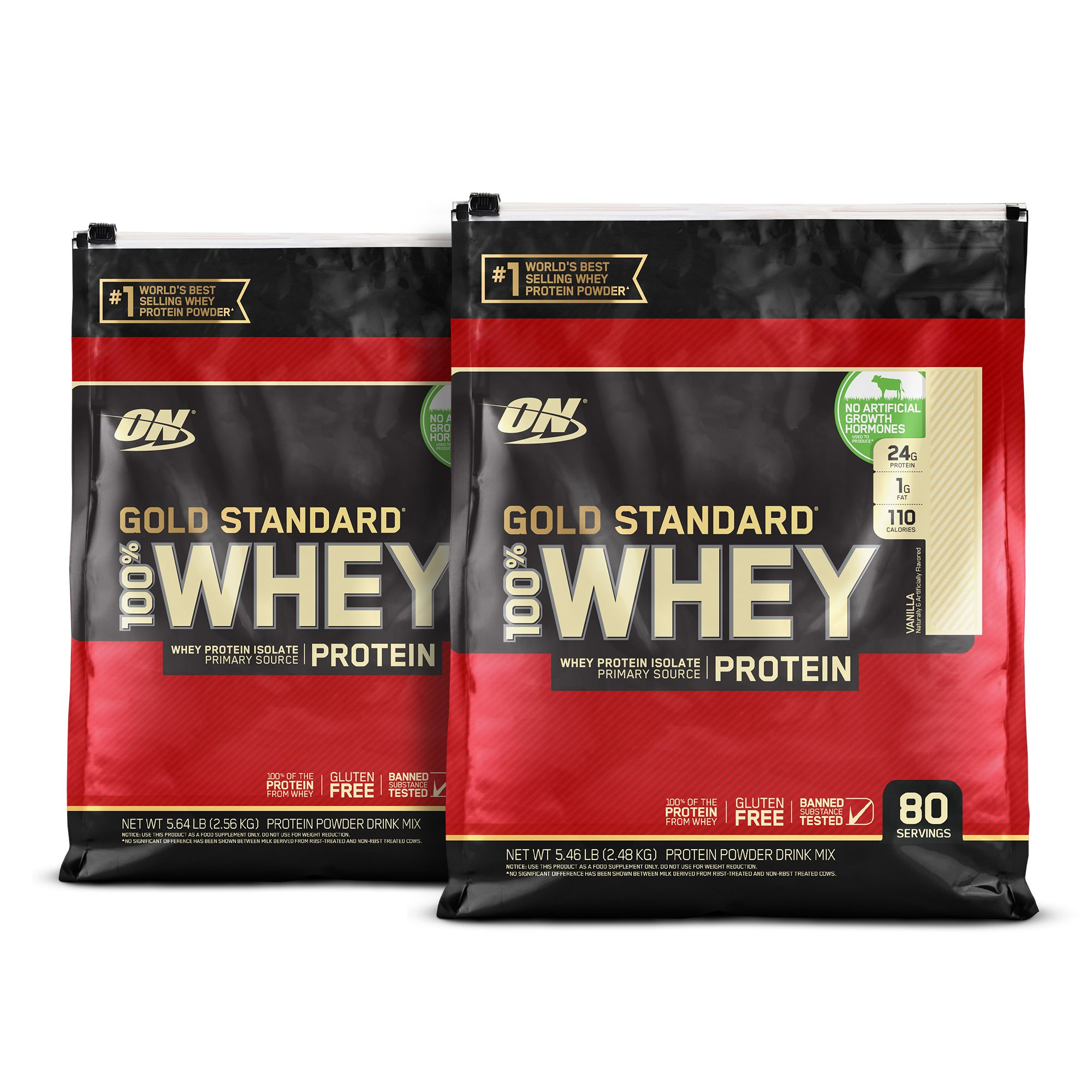 40d68d6bb The True Strength of ON GOLD STANDARD 100% WHEY™ Protein