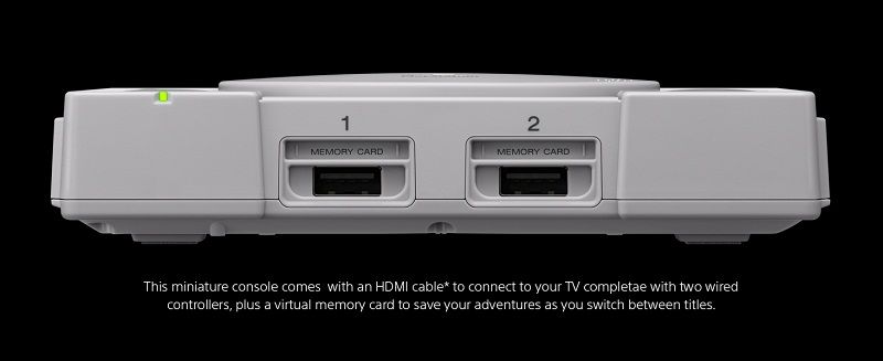 Sony PlayStation Classic Console, Gray, 3003868 - Walmart com